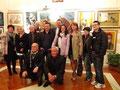 """Foto di gruppo all'Associazione culturale """"Lino Agnini"""" di San Giorgio Jonico"""