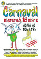 carnaval 2015 affiche Fabio et Rémi