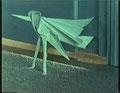 Au pied de la lettre (en origami)