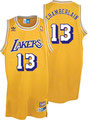 Баскетбольная майка NBA Уилта Чемберлена Лос Анджелес Лейкерс  №13 цена 3499 руб