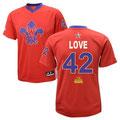 Баскетбольная майка НБА свингмен ALL STAR GAME 2014 NOLA №42 КЕВИН ЛАВ цена 3499 руб.