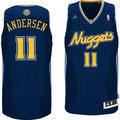 Баскетбольная майка НБА свингмен Денвер Наггетс №11 АНДЕРСЕН КРИС цена 2499 руб.