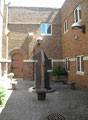 St. Lawrence Catholic Church and School: Courtyard