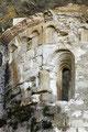 Grotta Sant'Angelo, abside di una chiesa alto-medioevale