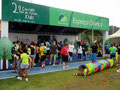 Une course spéciale pour enfants...