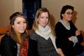 Emeline Julita, Claire Boissart et Alexandra Benchoua (chercheurs sur la maladie de Lesch-Nyhan à l'iStem)