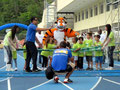 Echauffement avec le Tigre