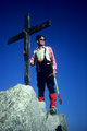Am Gipfelkreuz  4505m