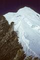 Aufstiegsspur zum Gipfel