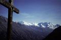 Bergpanorama Liskamm bis Breithorn