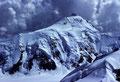 Aletschhorn  4195m von der Jungfrau  4158m