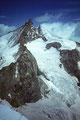 Zinalrothorn 4221 m und Weisshorn 4505 m vom Kluckerturm