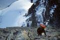 Aufstieg zur Wellenkuppe 3903 m