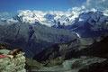Monte Rosa bis Zermatter Breithorn