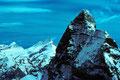 Matterhorn 4478m  von der Dent d´Herens  4172m