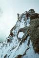 Kletterpartien am Ostnordostgrat