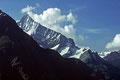 Weisshorn  4505m  -Ostgrat-  von der Täschalpe
