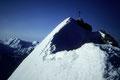 Gipfelkreuz  4505m vom Nordgrat