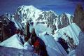 Mont Blanc 4807m mit Rochefortgrat