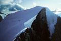 Grand Gendarm ( Kluckerturm ) 3870 m mit  Wellenkuppe 3903 m
