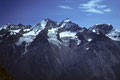 Bergpanorama Hohberghorn  4219m bis Alphubel  4206m