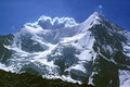 Obergabelhorn 4063 m von  der Cabane du Mountet 2886 m