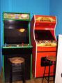 Retro Arcade 2: Máquina recreativa construída durante Junio de 2007