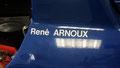 La JS27 de René Arnoux, qui avait terminé 8è au Championnat en 1986