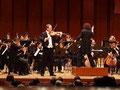 Japon 2010... Création du magnifique concerto pour alto de Michiru Oshima avec le KIUSHU SYMPHONY ORCHESTRA, Fumiaki Miyamoto direction, Pierre Lenert alto.
