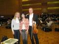 Japon 2010... Création du magnifique concerto pour alto de Michiru Oshima, Pierre Lenert alto.