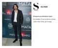 Aitor Luna de VRL   PACO VARELA en la premiere de su película 'Matar el tiempo' en Madrid. 28 Mayo 2015.