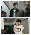Las camisetas SKULL y GOAT SKULL en la serie 'Sin Identidad' de Antena 3. Abril 2015.