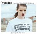 Camiseta de VRL | PACO VARELA en la editorial de moda 'The Seven Block'. www.vanidad.es. Octubre 2017.