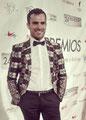Borja Luna de PACO VARELA en los Premios Unión de Actores, nominado a actor secundario de televisión por 'Isabel'. 11 Marzo 2015.