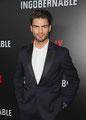 Maxi Iglesias de VRL   PACO VARELA en el estreno mundial de 'Ingobernable' para Netflix. Miami, 15 Marzo 2017.