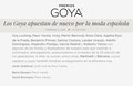 VRL | PACO VARELA en la 33º edición de los premios Goya. 2 Febrero 2019.