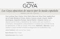 VRL   PACO VARELA en la 33º edición de los premios Goya. 2 Febrero 2019.