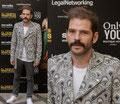 Jorge Monje de PACO VARELA en el pase a prensa de 'El tiempo de los monstruos'. 28 Septiembre 2016.