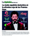 LA OPINIÓN DE MÁLAGA. Goya 2020.