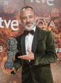 Javier Gutiérrez de VRL   PACO VARELA en la 32º edición de los Premios Goya. Madrid, 3 Febrero 2018.