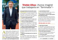 Tristán Ulloa de VRL   PACO VARELA en la revista Pronto. 6 Octubre 2018.