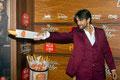 Aitor Luna de PACO VARELA en la premiere de 'Mi panadería en Brooklyn'. Cines Capitol, Madrid. 1 Julio 2016.