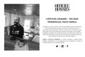 Entrevista en Spainmedia Radio para LOfficiel Hommes Spain. Spainmadeia.es/radio . Abril 2016.