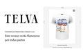 Camiseta NO SUMMER en Telva.com. Abril 2016.