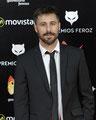 Hugo Silva de PACO VARELA en los Premios Feroz. 19 Enero 2016.