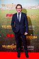 Carlos Santos de VRL   PACO VARELA en la premiere de 'Villaviciosa de al lado'. 1 Diciembre 2016.