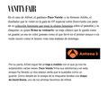 Alfred de VRL   PACO VARELA reseñas Vanity Fair y Antena 3.