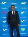 Roberto Enríquez de VRL   PACO VARELA en la presentación de la nueva temporada de Movistar Plus. Madrid, 11 Septiembre 2018.