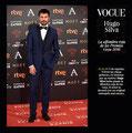 Hugo Silva de PACO VARELA en los Goya 30 edición. 6 Febrero 2016.