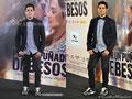 El actor Miguel Diosdado de PACO VARELA en la premiere de 'Por un puñado de besos'. Cines Callao, Madrid. 15 Mayo 2014.